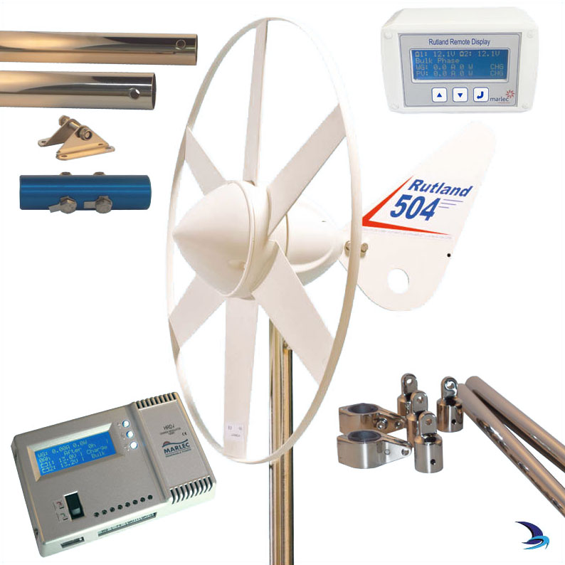 Rutland - 504 Wind Generator Duo Expert Kit